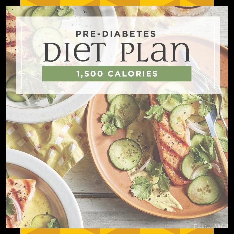 Prediabetes Diet Plan 1500 Calories