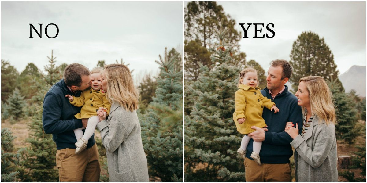 Do's and Don'ts for Family Photos