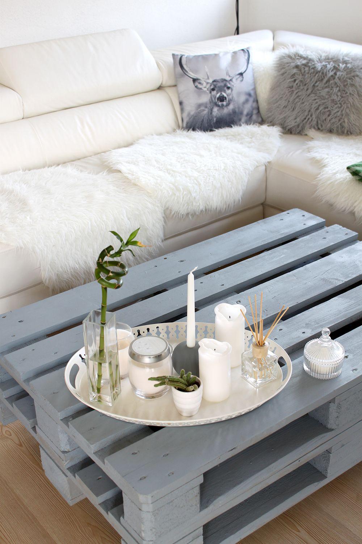 Tischdeko wohnzimmertisch ikea for Couchtisch deko ideen