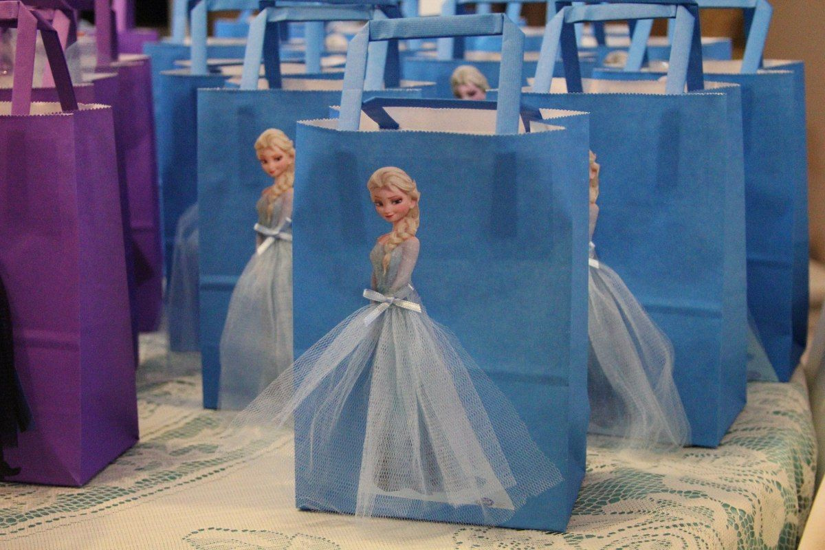 Bolsitas Cumpleaños Frozen Souvenirs | Fiesta frozen ...