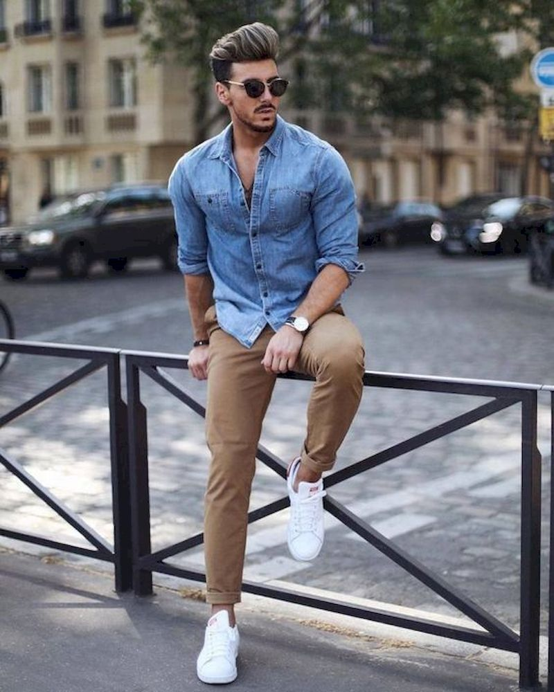 11 Comfort and Sophisticated Outfit Ideas For Men | Mens