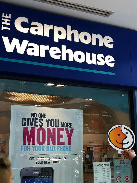 Swipping The Carphone Warehouse Old Phone Warehouse Olds