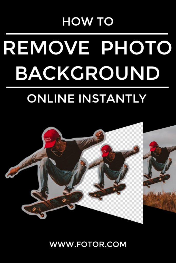How to Remove Photo Background Online Instantly Fotor's