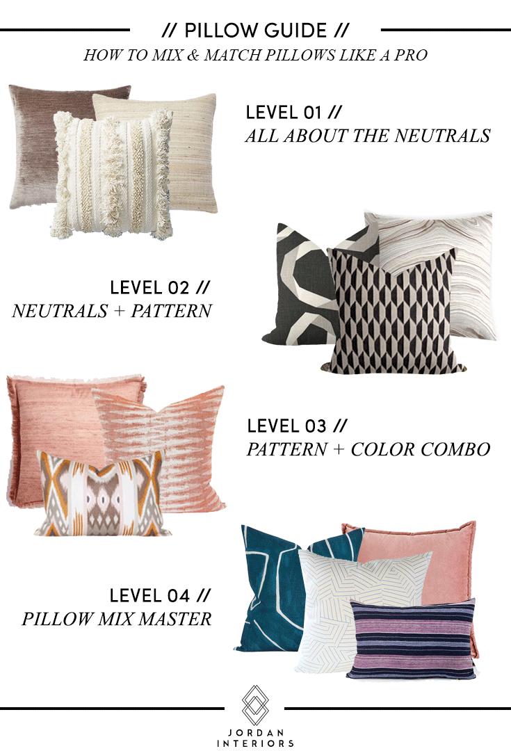 how to mix match pillows like a pro jordan interiors throw pillows living room bedroom pillows arrangement cushions on sofa