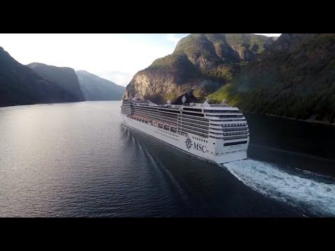 Cruising fjords and mountains