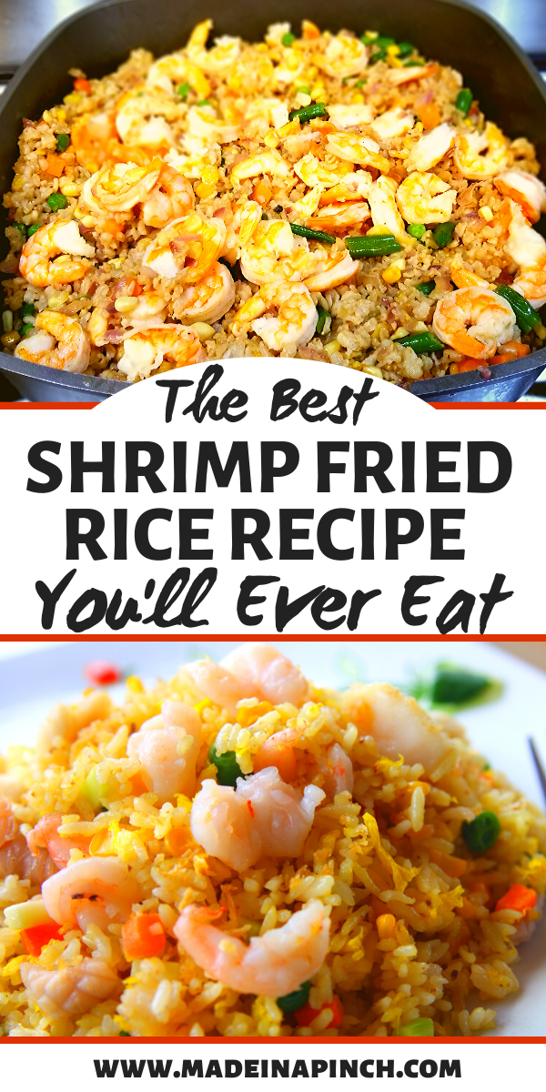 The Best Healthy Shrimp Fried Rice Recipe