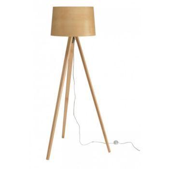 lampadaire trépied h.142 cm naturel   déco salon   Pinterest ...