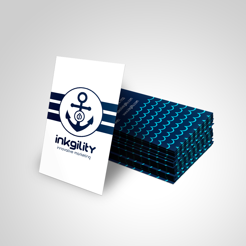 Nautical Business Cards | Nautical (Standard Business Cards ...