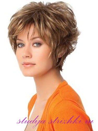 Укладки на короткие волосы с челкой, 4 фото | Короткие ...