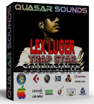 LEX LUGER Trap Star SOUNDFONTS Pack   LEX LUGER Drum Kit