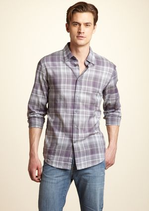 Plaid Shirt by John Varvatos USA