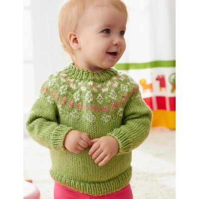 Free Intermediate Toddler's Sweater Knit Pattern | Patone 2017 ...