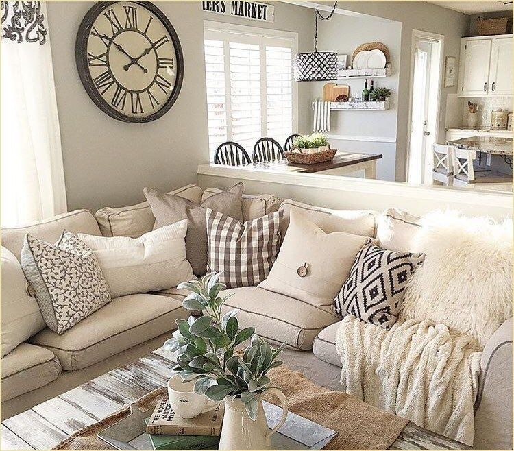49 Gorgeous Farmhouse Living Room Pillow Ideas