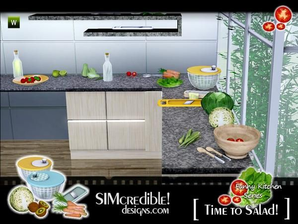 SIMcredible!'s Funny Kitchen series - Time To Salad