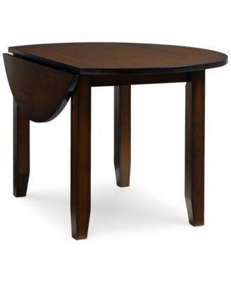 Furniture Branton Round Drop Leaf Table Reviews Furniture