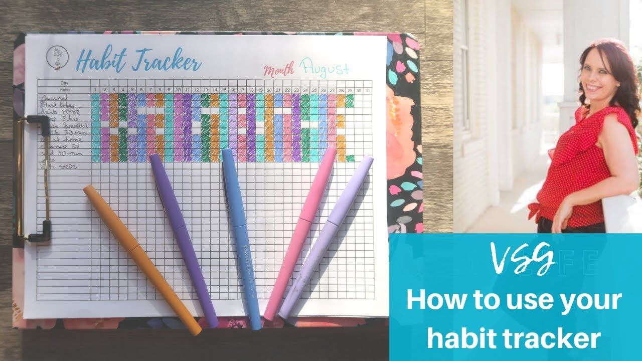 HOW TO USE YOUR HABIT TRACKER VSG GASTRIC SLEEVE SURVIVAL