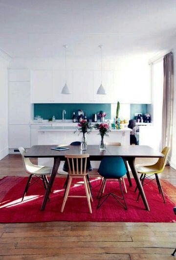 wei e k che bunte r ckwand wand pinterest wei e k chen r ckwand und bunt. Black Bedroom Furniture Sets. Home Design Ideas