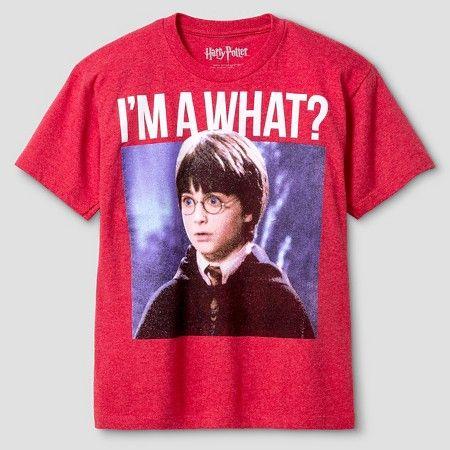 Boys Harry Potter T Shirt Red Xl Target Harry Potter Tshirt Boys T Shirts Harry Potter Shirts