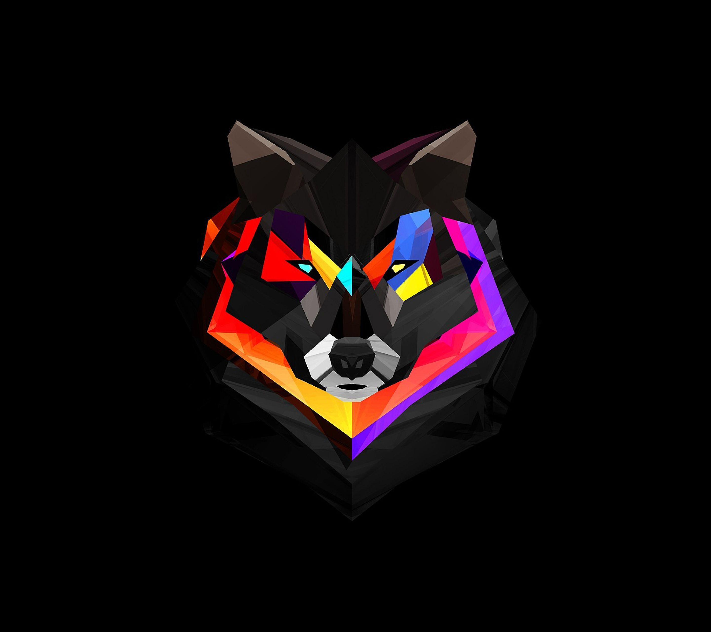 Geometric Wolf Geometric Wolf Wallpaper Wolf Wallpaper Geometric Animal Wallpaper