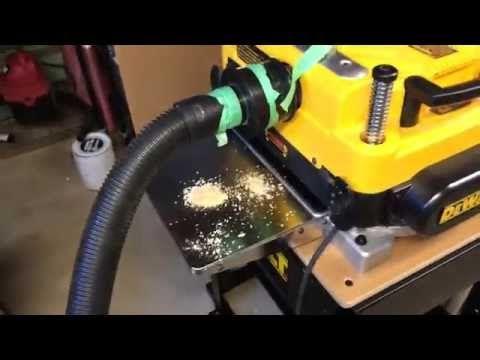 DeWalt DW735 Dust Collection Setup | Tools in 2019 | Dust