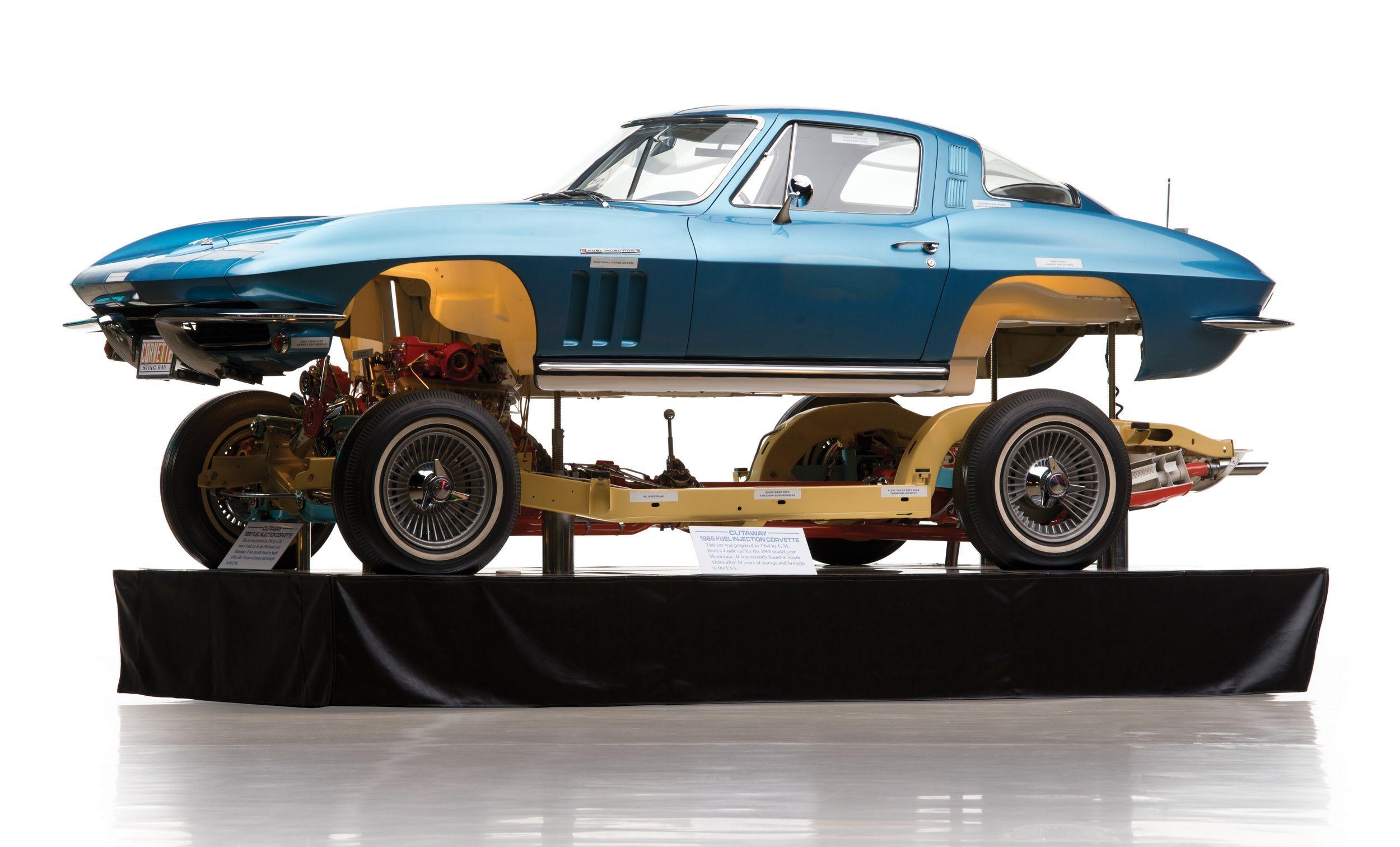 1965 corvette cutaway
