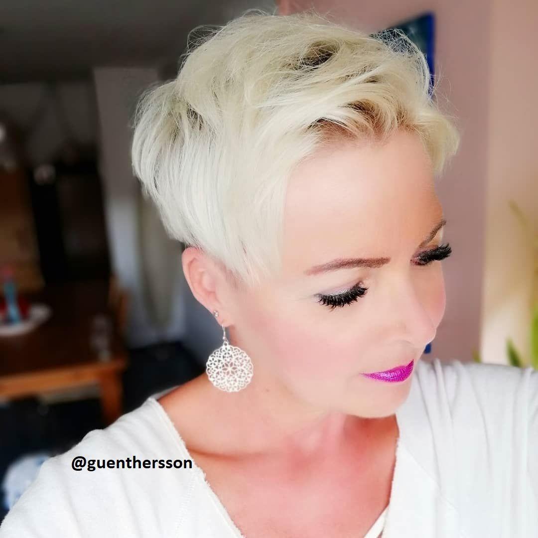silberblond bei kurzen haaren   silber blond, haarfarbe