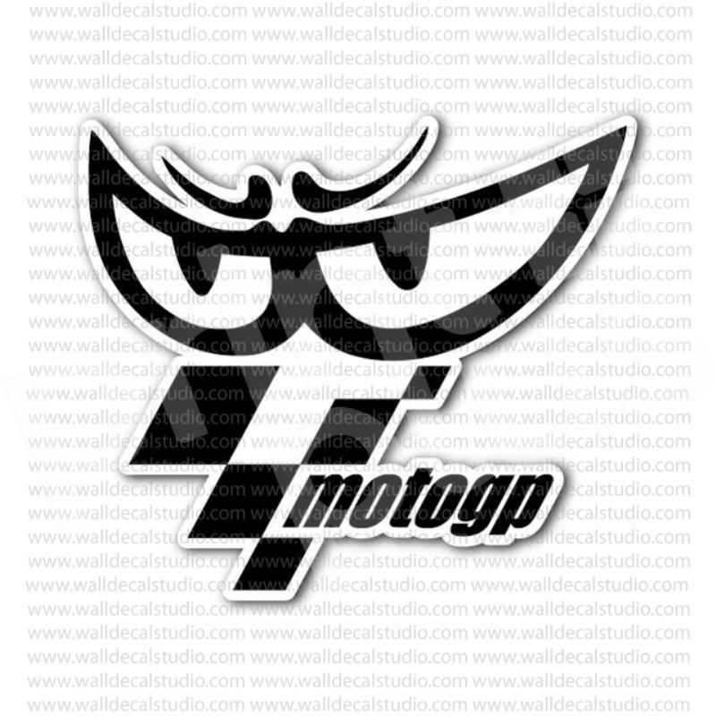 Motogp grand prix motorcycle racing sticker