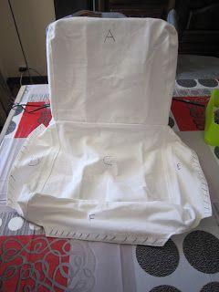 de chaise barcoutureHousse Housse chaiseTuto de de nO0kwP