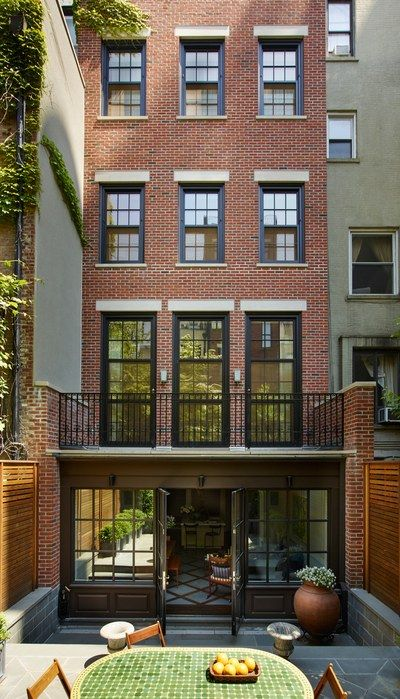 22 Modern Residences With Classy Exterior Designs: Townhouse Exterior, New York Townhouse, Townhouse