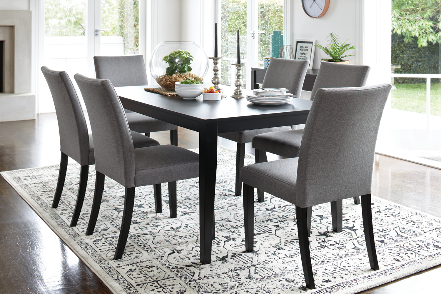 Monza 7 Piece Dining Suite by Paulack Furniture