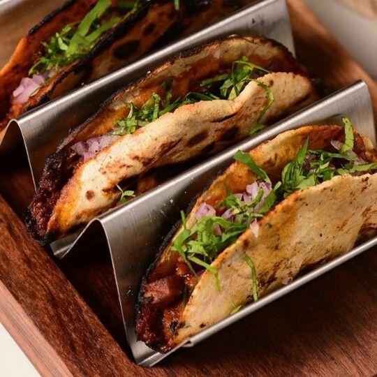 Tacos de asado de atún