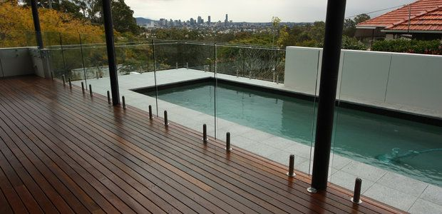 Glass Pool Fence frameless glass pool fencing - a beautiful design accent to your