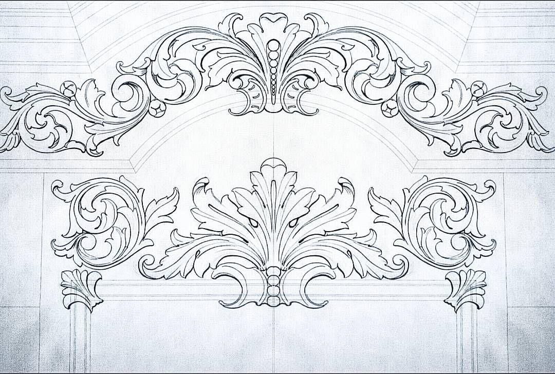 Рисунок в стиле барокко