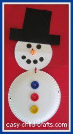 Sneeuwpop van bordjes #themawinterpeuters