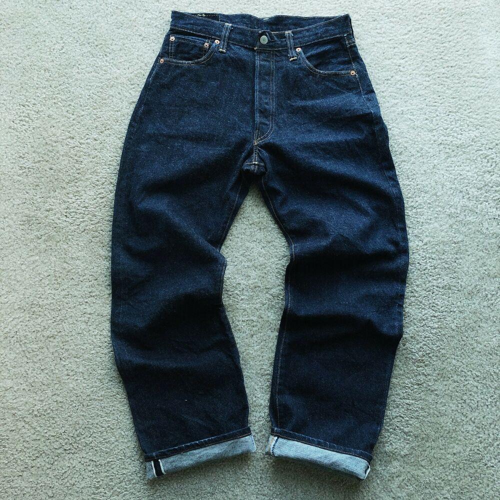 f0f22450ac665 Vintage LEVI S 501 XX Selvedge Denim Jeans  555 Valencia  USA Big E ...