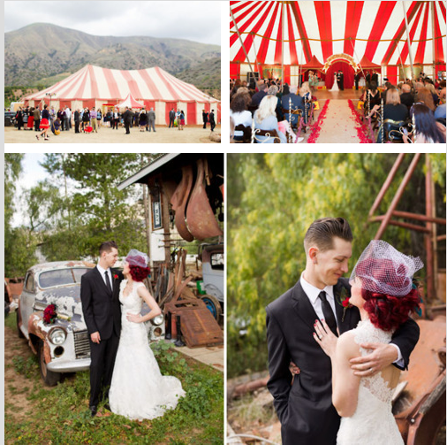 Vintage circus wedding #vintagecircus #circuswedding #circustheme