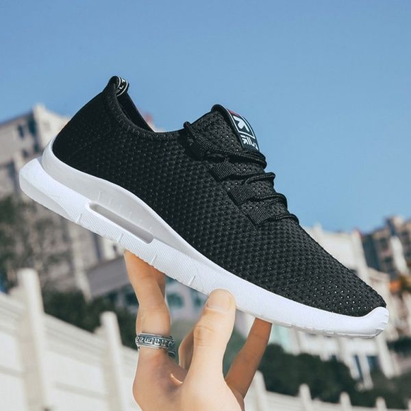 2020 Men Sneakers Fashion Shoes Casual Shoes Male Mesh Sport Shoes Running Sneakers Plus Size 39-47