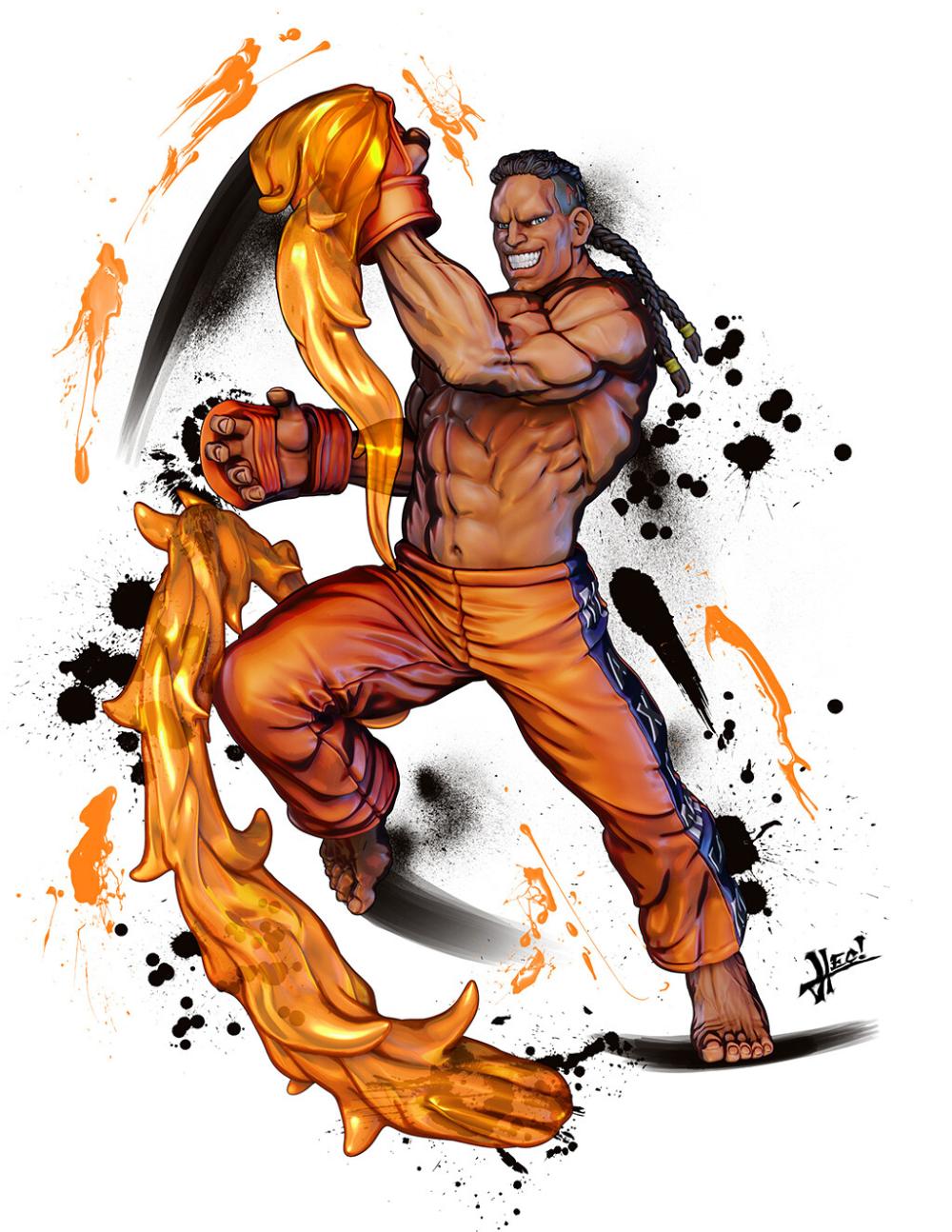 Artstation Street Fighter Miniatures Ssf2 New Challengers Pack Hector Moran Hec Street Fighter Characters Street Fighter Street Fighter Art