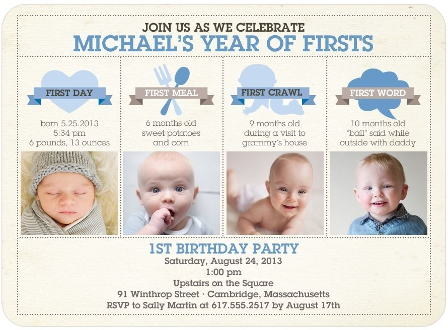 infographic first birthday   infographic birth   Pinterest ...