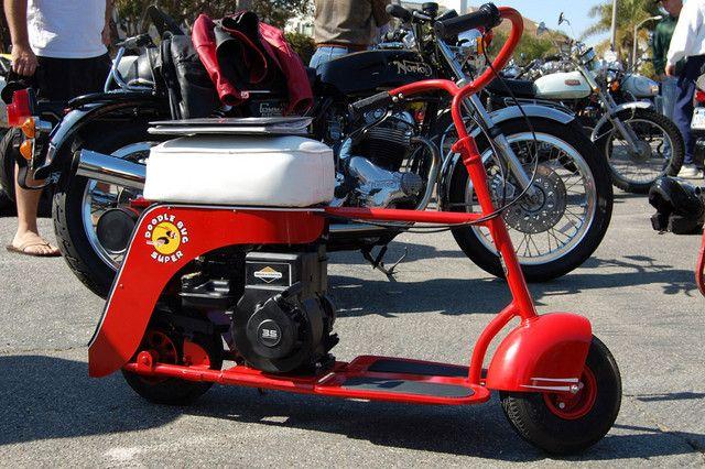 1948 Doodle Bug Super Mini Bike Mini Bike Bike Vintage Bike