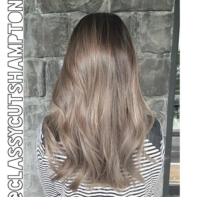 Next We Have A Refreshed Smokey Dark Ash Blonde For Our Lovely