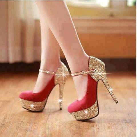 Les Femmes Clignent Des Chaussures Rouges 1YW3UVu