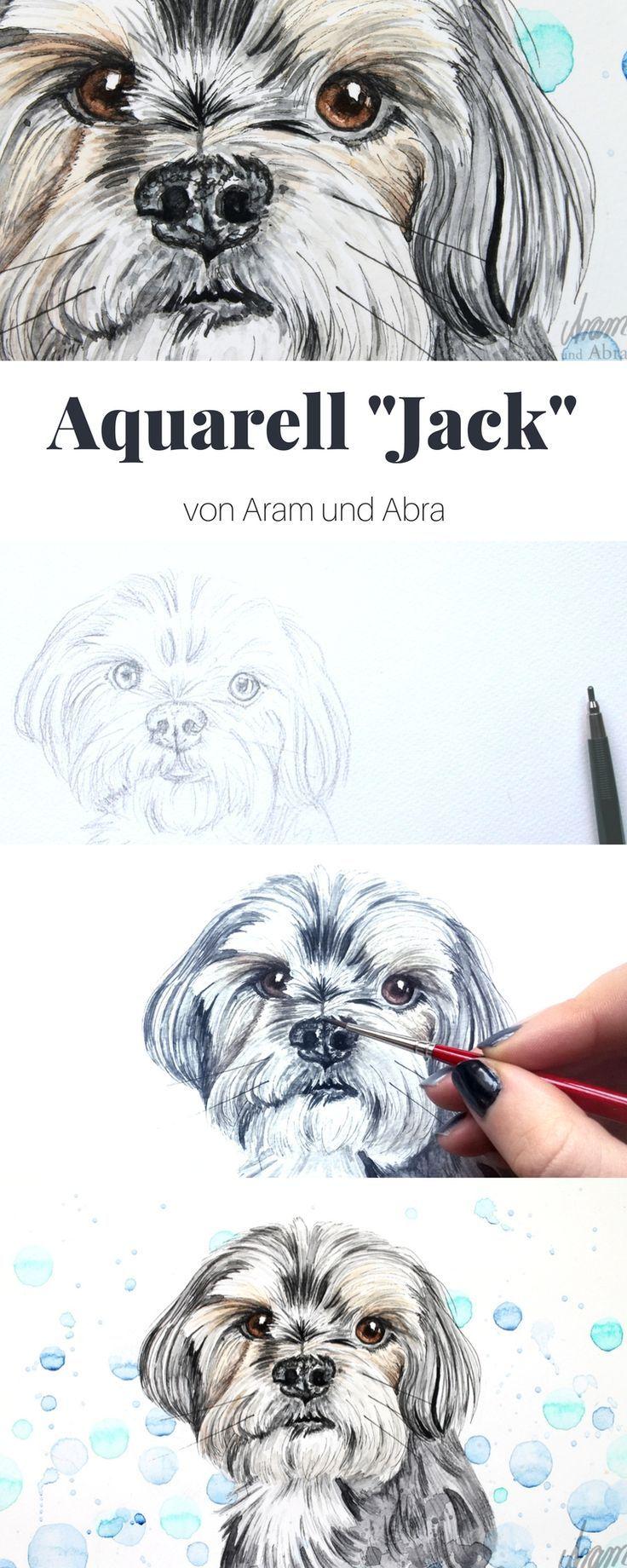 Hund Malen Lassen Auftragsarbeiten Bei Aram Und Abra Zeichnen