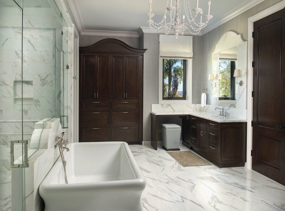 20 Fantastic Traditional Bathroom Designs You're Gonna ... on traditional bathroom decorating, traditional designer bedding, traditional bathroom sinks, traditional double sink vanities, traditional bathroom suites, traditional white bathroom, traditional interior design, traditional showers, traditional toilets, traditional bathroom cabinets, traditional double bathroom vanities, traditional designer living rooms,