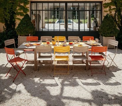 Collection Slim - Fermob - mobilier de jardin en métal | fermob ...