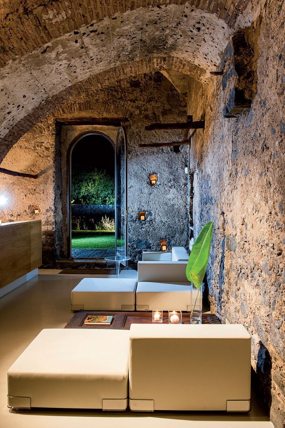 Architecture, Interesting Modern Zash Country Boutique Hotel Called Sicily Featuring Interior Design By Italian Architect Antonio Iraci With White Sofa: Chic Eclectic Home Decor with Original Design and Modern Furniture
