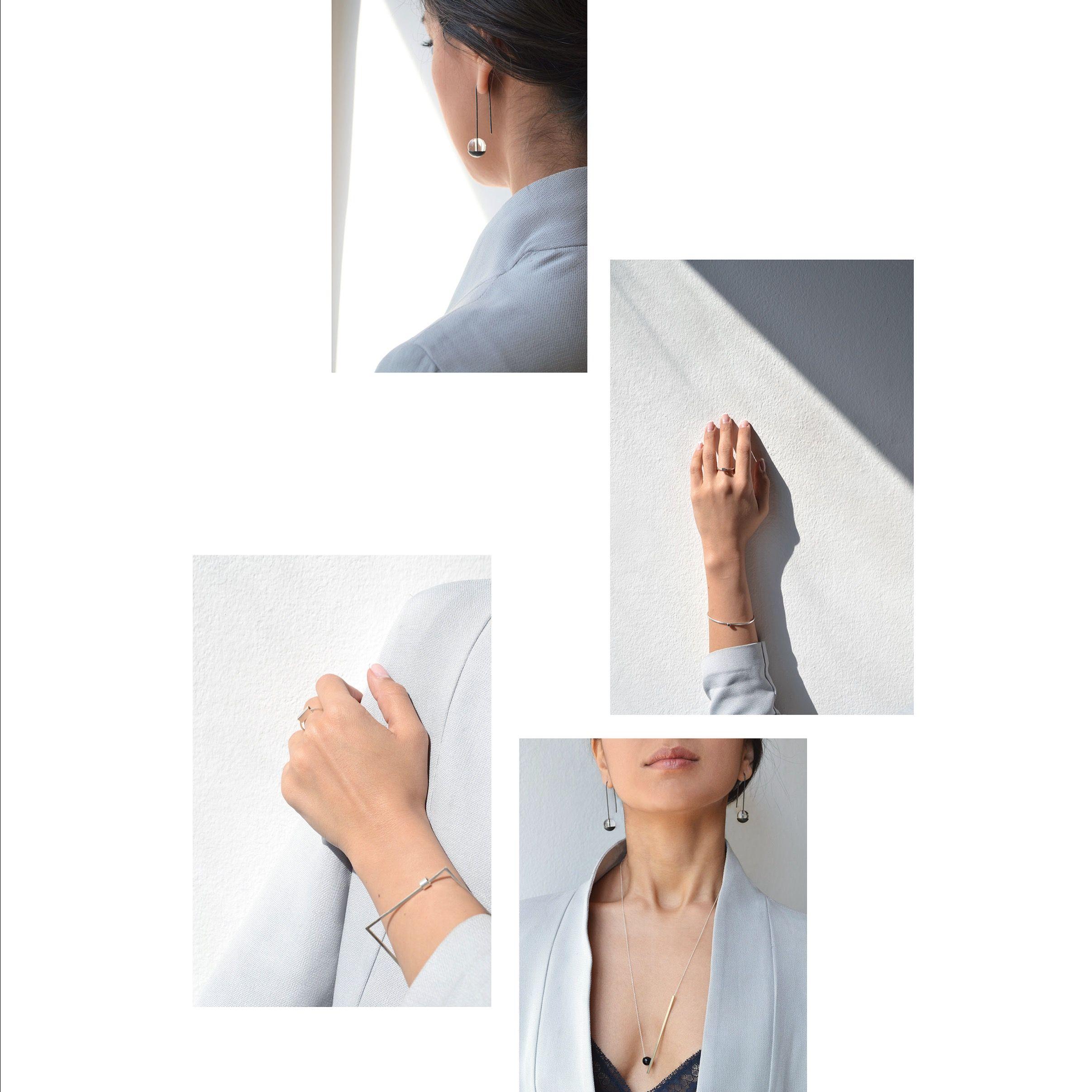 La Terra jewelry minimal mood board