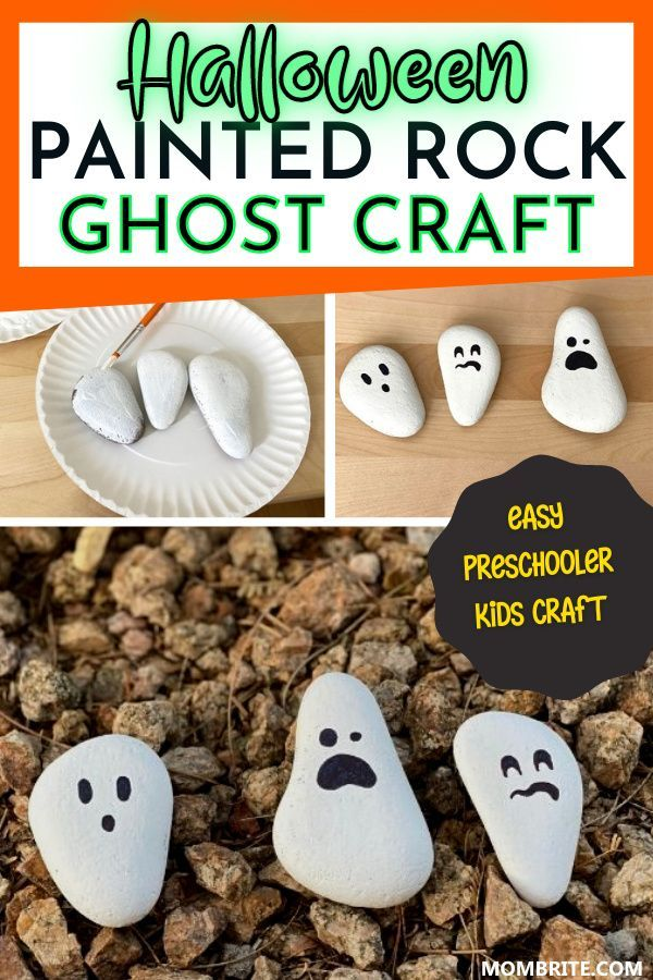 Photo of Cute And Easy Painted Rock Ghost