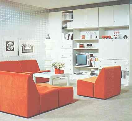 Mobel 70er Jahre Design 70s Decor Vintage Interiors Living