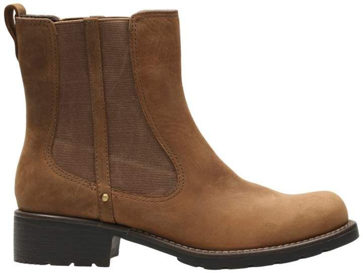 Orinoco Club Brown Snuff - Women's Booties & Ankle Boots - Clarks® Shoes Official Site #jeanjacketoutfits